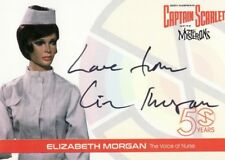 Captain Scarlet 50 Years Elizabeth Morgan EM2 Voice of Nurse Auto Card Variant f