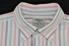 T.M.Lewin Button Cuff Machine Washable Formal Shirts for Men