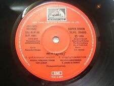 ANTHICHUVAPPU A T UMMER MALAYALAM FILM rare EP RECORD 45 vinyl INDIA 1984