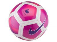 Size 5 Nike 2015 2017 Pitch Premier League EPL Football Professional Ball / Pump