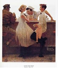 Norman Rockwell Youth Dating Print After The Prom