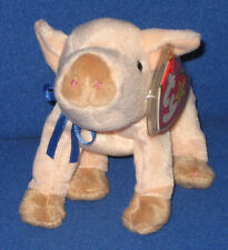 TY KNUCKLES the PIG BEANIE BABY - MINT with MINT TAGS