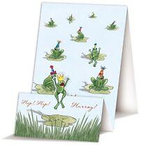 *Quire*Doppelkarte zum aufklappen*Frog*Hip hip hurra!*
