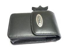 Nikon Coolpix noir en cuir loqueteau magnétique appareil photo numérique case S3100 S3200 S3300