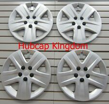 "NEW 2010-2011 Chevy IMPALA 17"" Wheelcovers Hubcap SILVER BOLT-ON SET"