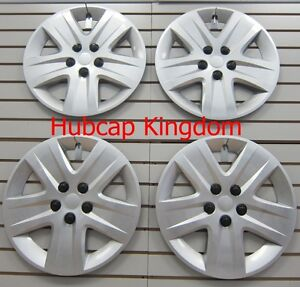 """NEW 2010-2011 Chevy IMPALA 17"""" Wheelcovers Hubcap SILVER BOLT-ON SET"""