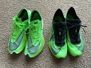 Nike Vaporfly Next Percent Electric Green size 11 Zoom Fly 10.5