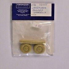 Paragon Designs 1/72 Scale Lancaster Bulged Wheels Item No. 72055