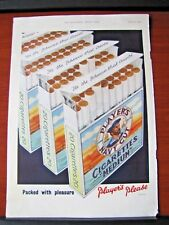 Vintage- Player's Navy Cut Cigarettes  - 1955 magazine advertising- 10x14 inches