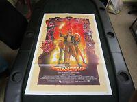 Vintage 1 sheet 27x41 Movie Poster Dreamscape Dennis Quaid Max Von Sydow