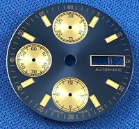 Unbranded Automatic Watch Dial Part 28.5mm Fit valjoux ETA 7750 Swiss Made #924