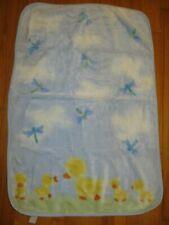 New listing Carter's Plush Ducks & Dragonflies Baby Blanket
