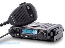 Midland M-Mini Multimedia CB-Funkgerät mit Headsetanschluß für Bluetooth-Zubehör