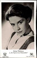 Film Kino Schauspielerin Kolibri-Verlag s/w Porträt-Foto von Gertrud Kückelmann