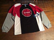 Shirt Reebok basketball shirt Nwt $28 Boys L 14 / 16 New
