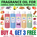 4 oz. Fragrance Scented Oil For Soap Burning Bath Bomb Candle Incense making Oil