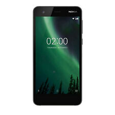 "New Nokia 2 Black 5"" 8GB Quad Core 1GB LTE Android 7.1 Sim Free Unlocked UK"