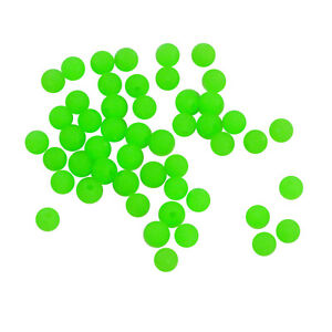 6 mm Lumo Bead Green Glow Beads Qty 50 for Snapper Whiting etc Swimerz