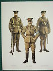 VINTAGE WW1 WWI PRINT GREAT BRITAIN 1st BATTALION GRENADIER GUARDS COLONEL CATOR