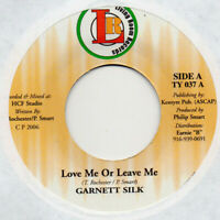 "Garnett Silk Love Me Leave Me 7"" 45rpm Single Vinyl Roots Rock Reggae Dancehall"