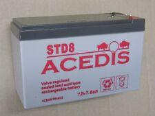 ABUS Bleigel batterie 12 V 7,2ah bt2070 VDS C SUN entretien Batterie parcours extérieur sûr
