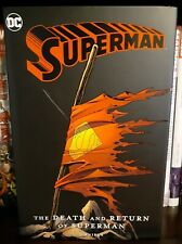 The Death and Return of Superman Omnibus New Edition 2019 HC hardcover HTF OOP
