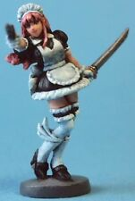 Aurora Model 1/48 Maid Warrior With Sword And Gun