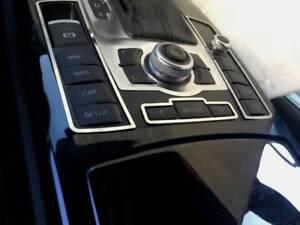D Audi A6 4F Chrom Rahmen für Schalter Mittelkonsole - Edelstahl poliert
