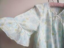 Vintage Babydoll Negligee Nightdress St Michael 60's Sheer