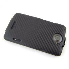 Etui Flip Business Case HTC One X XL Smartphone  Carbon schwarz