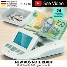 NEW Australian Digital Note Coin Money Counter Jewellery Scales Counting Machine