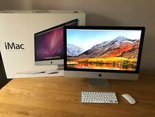 "🍏 Apple iMac 27"" 2011✔Upgraded! QuadCore i7 3.4GHz, 1TB SSD + 2TB HDD, 16GB RAM"