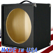 "1X15 Empty Guitar Speaker Cabinet For 15"" JBL E130 and E140 Bronco Black Tolex"