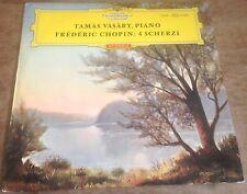 DGG 136 451 SLPEM CHOPIN 4 scherzi VASARY 1964 GERMAN RED STEREO VINYL LP