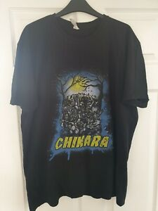 RARE CHIKARA WRESTLING T-SHIRT XL MENS WWE WWF WCW ECW HALLOWEEN SCARY LUCHA