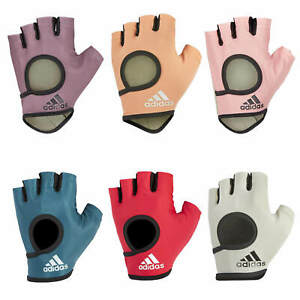 Adidas Womens Essential Gloves Weightlifting Exercise Fitness Gym Workout Ladies
