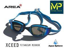 MP Michael Phelps XCEED Swimming Goggles Blue, RACING GOGGLES Aqua Sphere