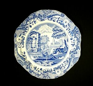 Beautiful Copeland Spode Italian Blue Segmented Serving Platter