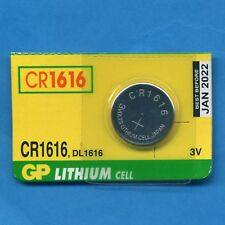 2 x CR1616 1616 DL1616 3V GP Lithium Coin Cell Batteries