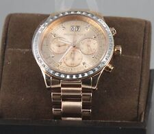 Michael Kors MK6204 Lady's Brinkley Rose-Gold Tone Stainless Steel Watch NEW