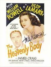 "Hedy Lamarr Autograph VINTAGE Circa 1969/ 8x10 "" Heavenly Body "" UACC Certified"