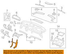 Chevrolet GM OEM 11-13 Caprice Instrument Panel Dash-Center Bezel 92268703