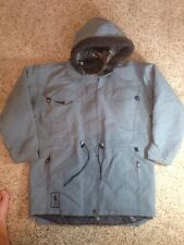 Blue/Gray women's Roxy winter insulated jacket/hooded Parka Size Small 5-6 Ked
