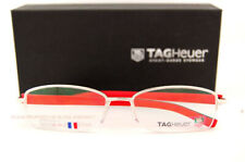Brand New TAG Heuer Eyeglass Frames TRENDS RUBBER 8210 002 Silver For Men