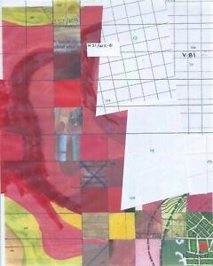 Jerry's Map Original Panel N21/W11 Gen VI Collectible Process Map Art!