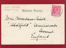 More details for cape colony ocean post office 1903 postmark funchal praia madeira pc am44