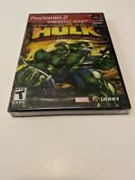 Incredible Hulk: Ultimate Destruction (PlayStation 2) PS2 - Brand New, Sealed