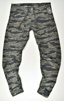 G-STAR RAW, Powel Qane 3D Tapered Cuffed, W33 L36 Cargohose Tiger Camouflage