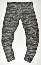 G-STAR RAW, Powel Qane 3D Tapered Cuffed, W36 L36 Cargohose Tiger Camouflage