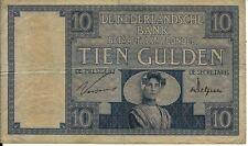 10 Gulden Januar 1930 Zeeuws Meisje